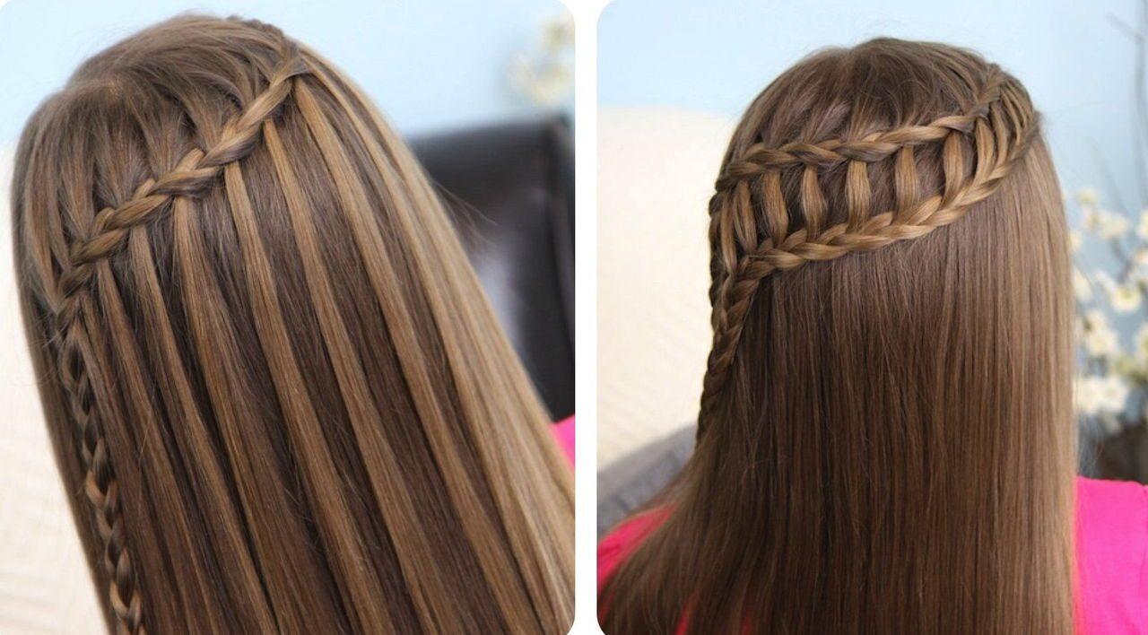 Причёски плетение кос видео